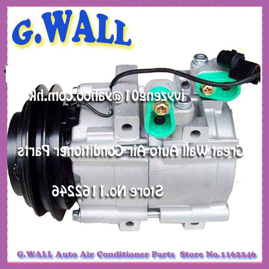 Hs18 Ac Compressor For Car Hyundai H 1 Starex 2 4 2 5 1997 2007 977014a020 977014a021 97701 Air Conditioning Installation Air Conditioner Parts Ac Compressor
