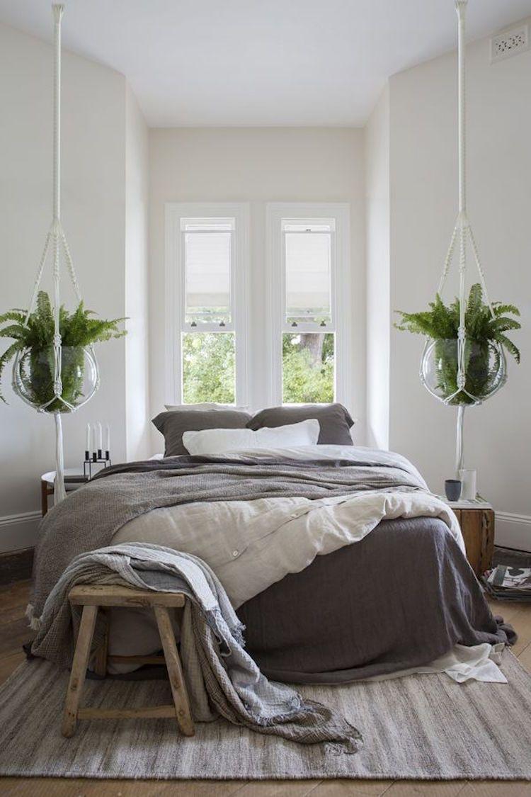decorer-chambre-avec-plantes | Chambre | Pinterest | Dans la ...