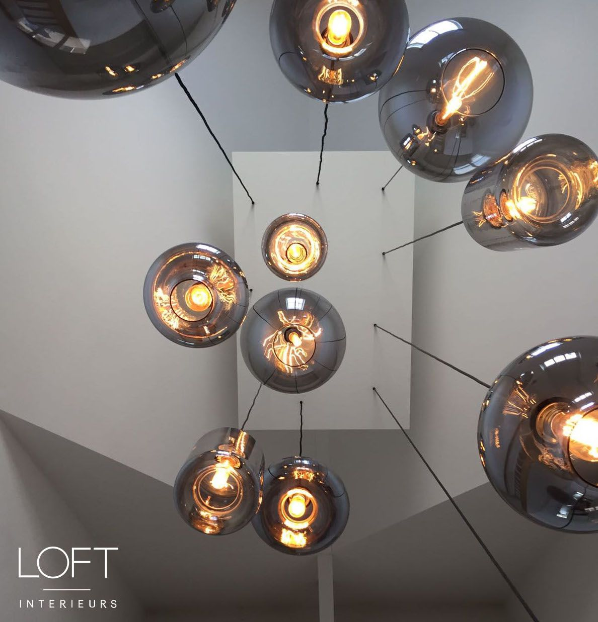 Loftinterieurs Bulbs Lighting Vide Hal Project Design