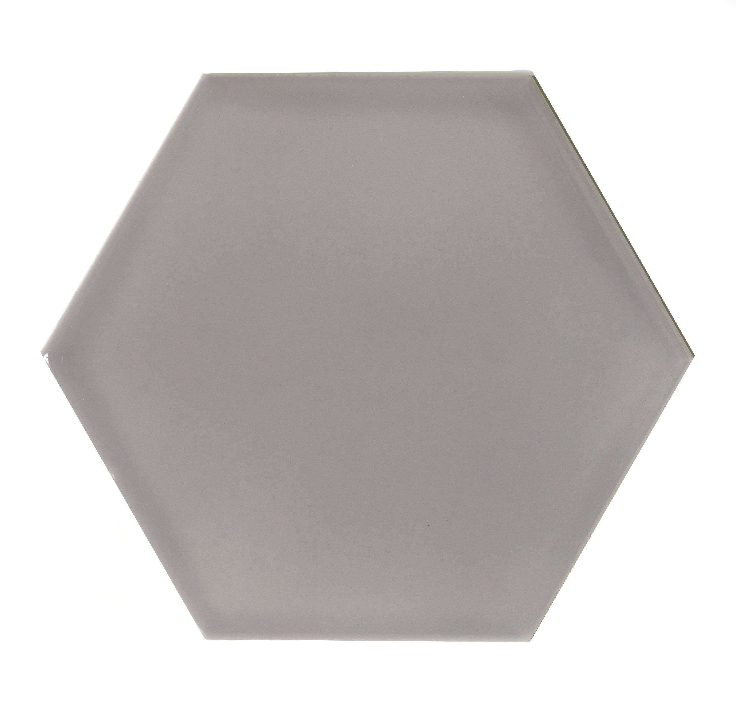 Bq Ceramic Kitchen Floor Tiles Hanbury Steel Hexagon Ceramic Wall Tile Pack Of 50 L150mm W
