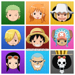 One Piece - The Nine Colours by SergiART on DeviantArt