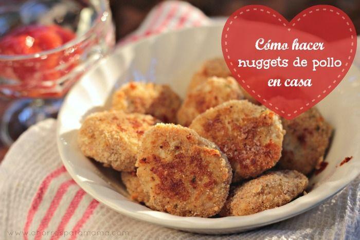 Receta: Nuggets de pollo hechos en casa