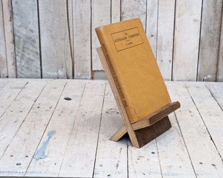 Book stand for kitchen or library. East London Furniture