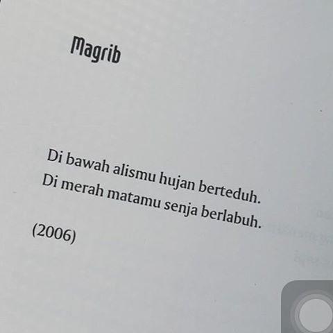 Puisi Joko Pinurbo Kata Kata Indah Kutipan Buku Puisi