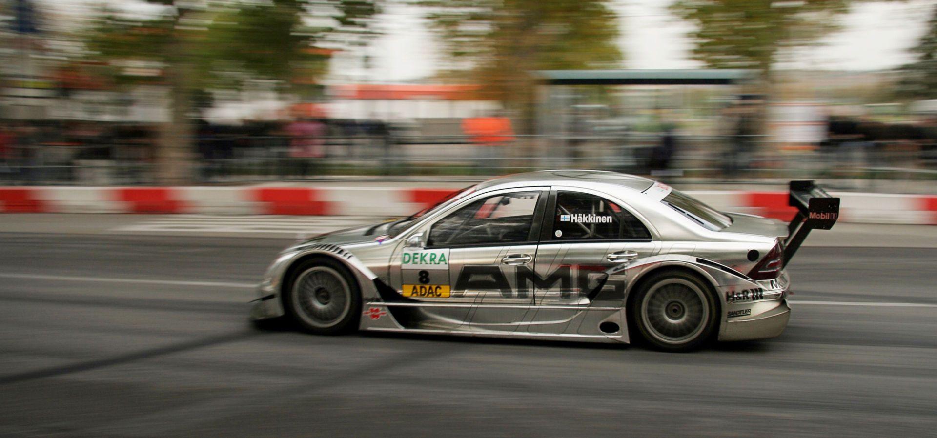 DTM car mercedes2006 Haekkinen racing - Deutsche Tourenwagen Masters -Mika Häkkinen in his Mercedes, 2006