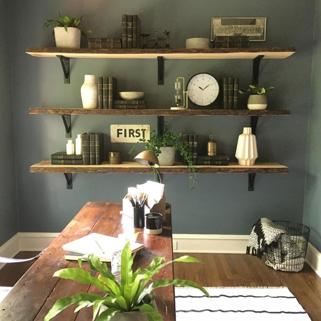 Joanna Gaines Office E Rustic