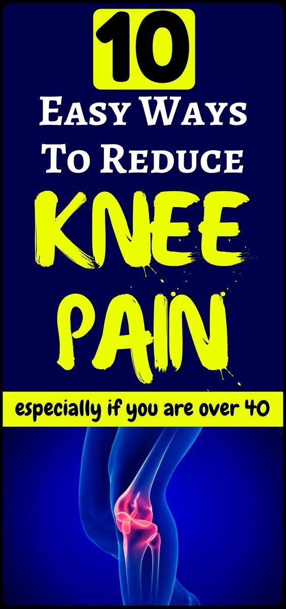 10 very easy ways hot to reduce that knee paiin