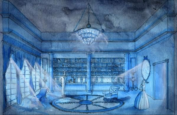 Masque of the Red Death: Blue Room   Masque of the Red Death ...