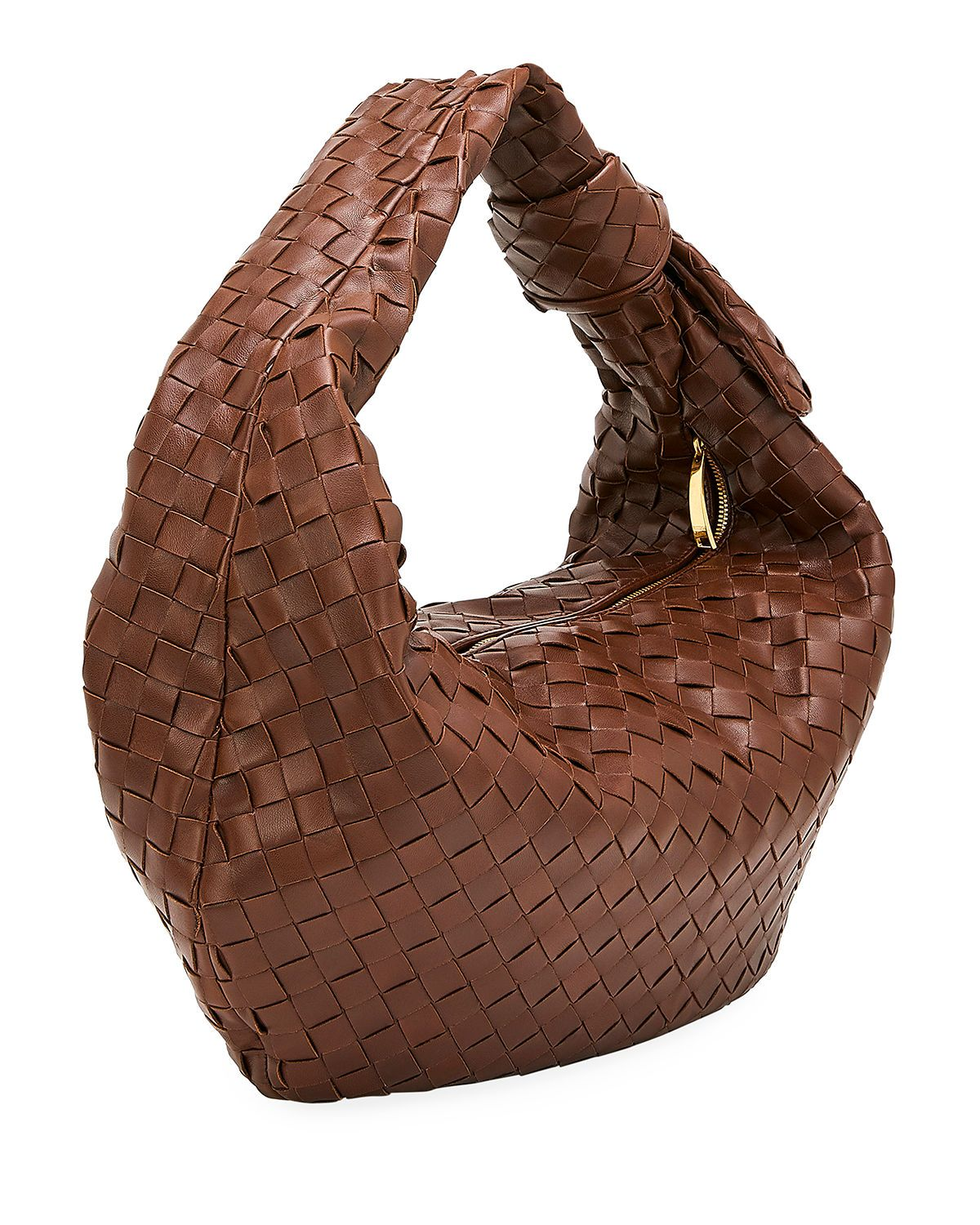 BOTTEGA VENETA JODIE NAPA INTRECCIATO SMALL HOBO BAG bags bags