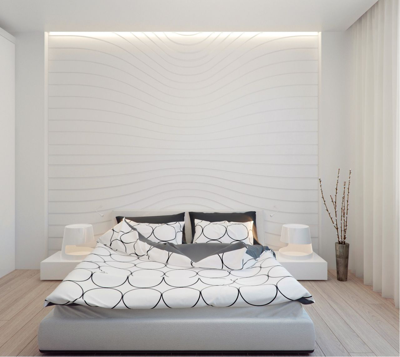 Квартира в Измайлово, Архитектурное бюро Александры Федоровой Minimalist Interior Design