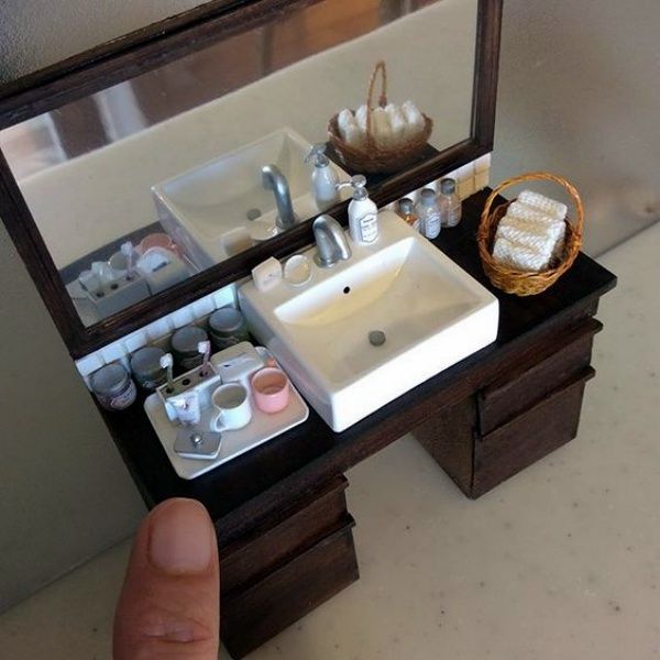 30 Cute Ideas for Dollhouse Miniature Things