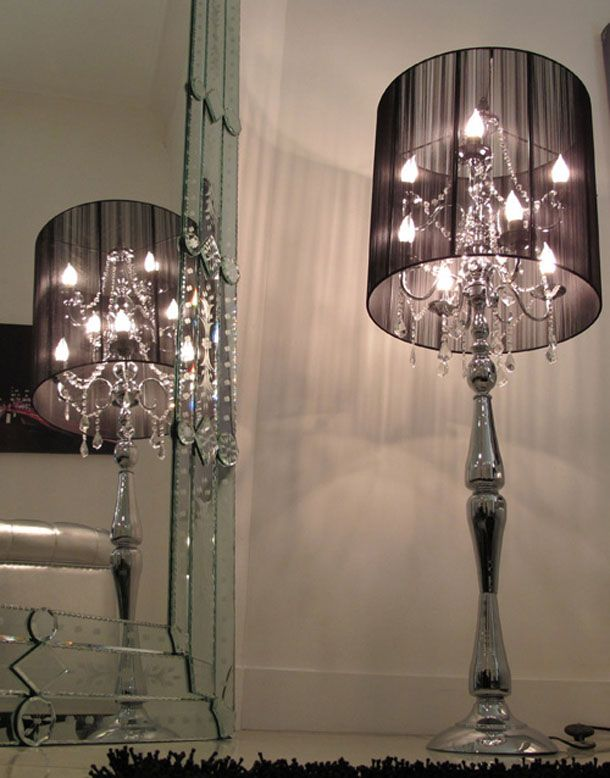 enhance your home with stylish floor lamps | black lamps, floor