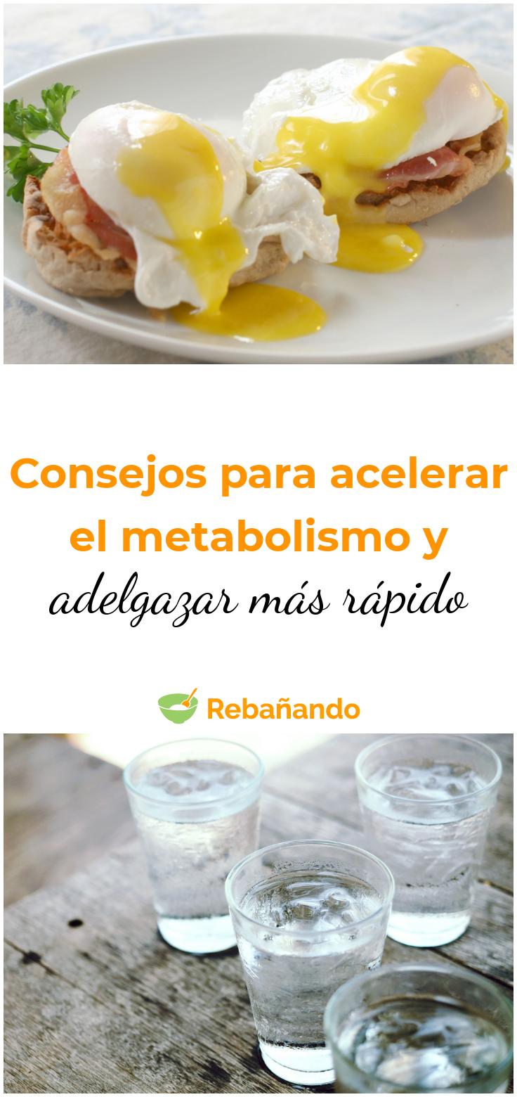 acelerar metabolismo adelgazar