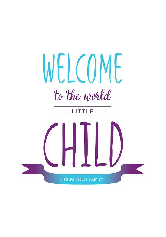 Newborn Baby Quotes Awesome Print Poster Newborn Baby Quote Prints Welcome Towishfulquotes . Review