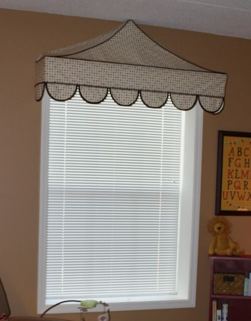 Circus Tent Awning Window Treatment