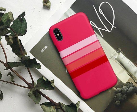 Pink Stripes case Google pixel 3a 3 case Google pixel 4 xl | Etsy