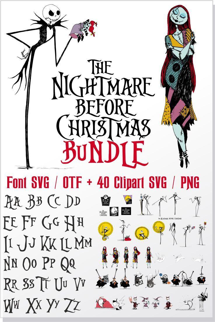 Nightmare Before Christmas bundle / Nightmare Before
