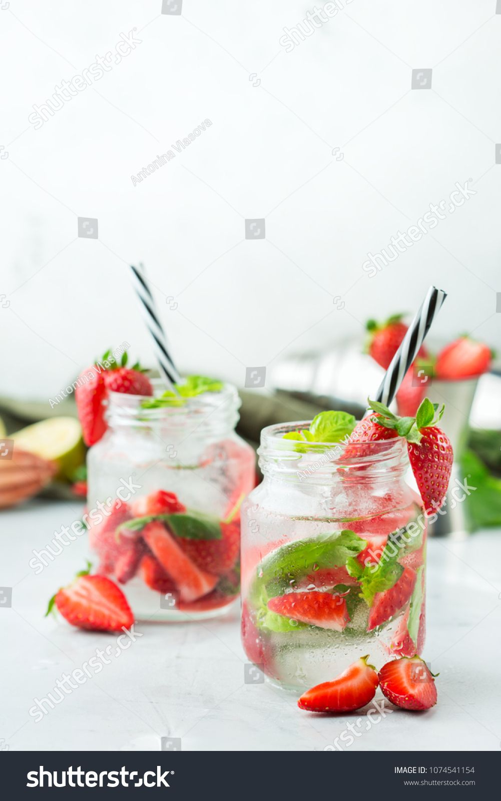 Food And Drink, Holidays Party Concept. Cold Fresh Alcohol