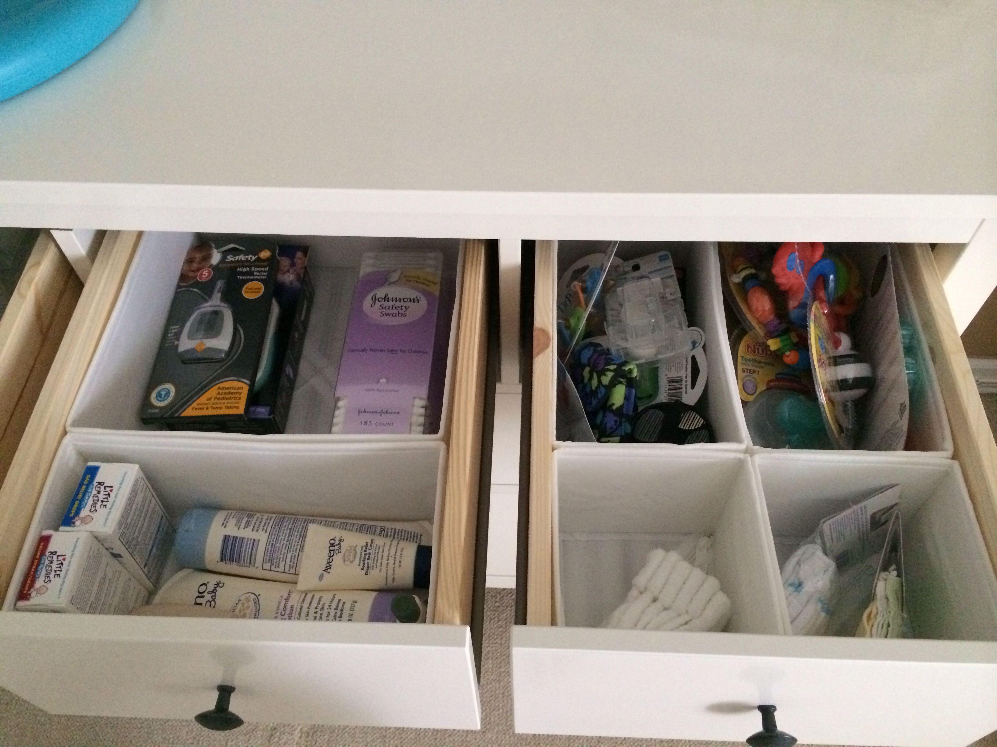 Hemnes Dresser And Skubb Drawer Organizers Hemnes Dresser