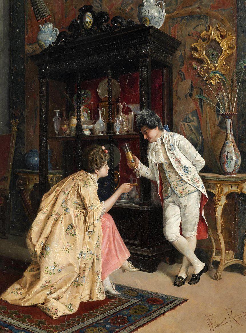 E. Fornari — The Connoisseur, 19th Century   (861×1165)