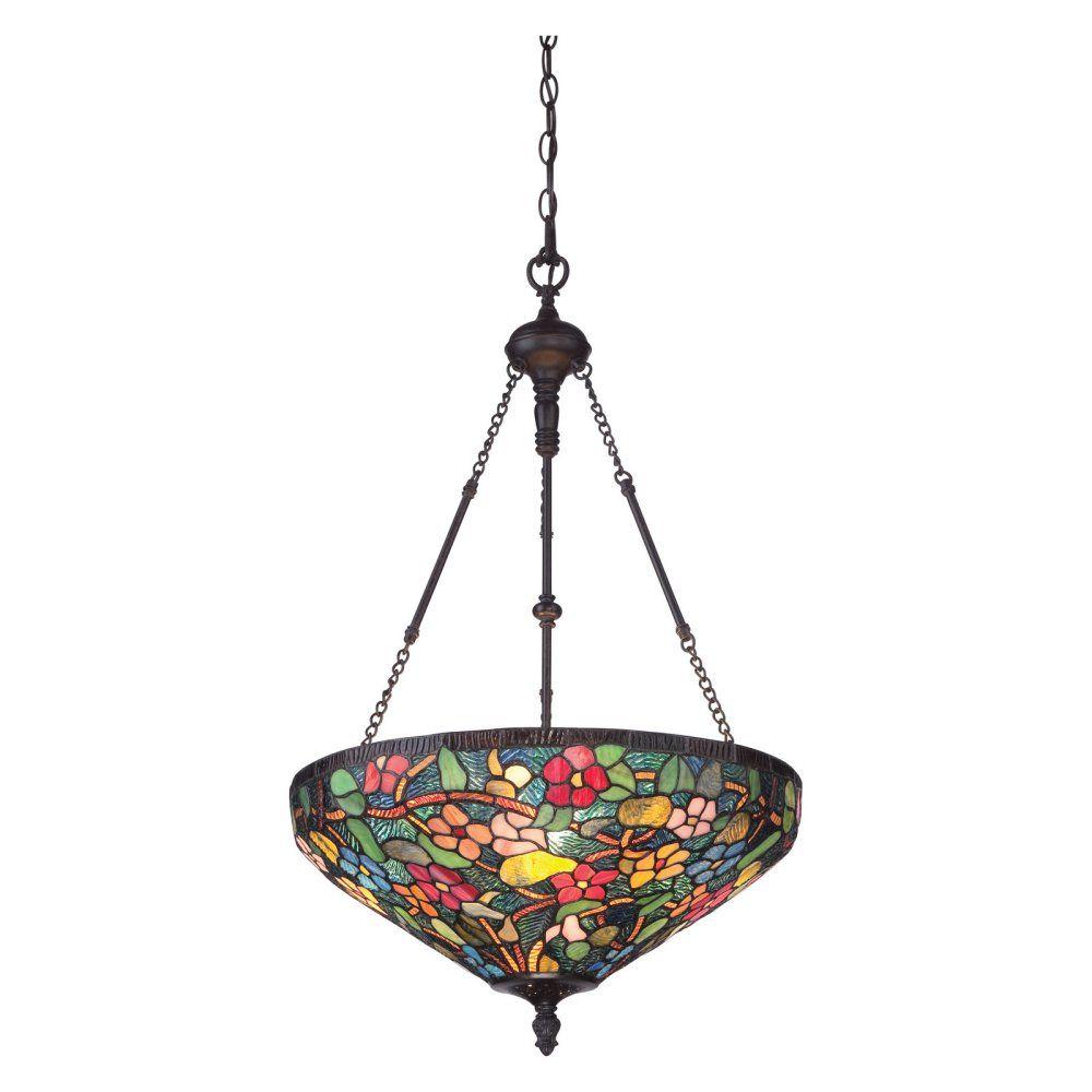 tiffany style pendant light. Quoizel Tiffany - Palazzo TF1880IB Pendant Light From Decorative Hanging Chains To Lush Style L