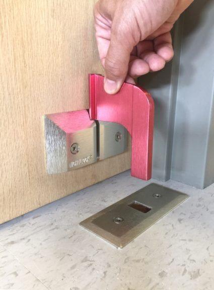 NIGHTLOCK® LOCKDOWN Door Barricade for Schools & Office