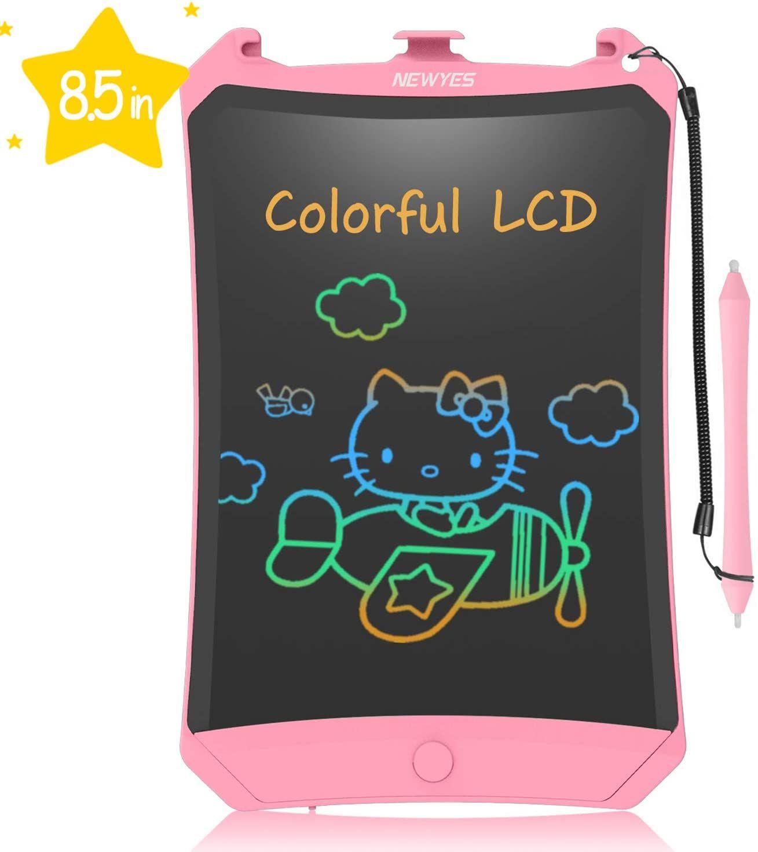 Newyes Tableta De Escritura Lcd 8 5 Tableta Grafica Tablet Para Ninos Y Adultos Colores Mas Brilla Tableta Grafica Tableta Pizarra Digital