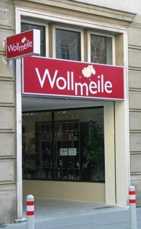 Wollmeile Wien: Wolle und vieles mehr