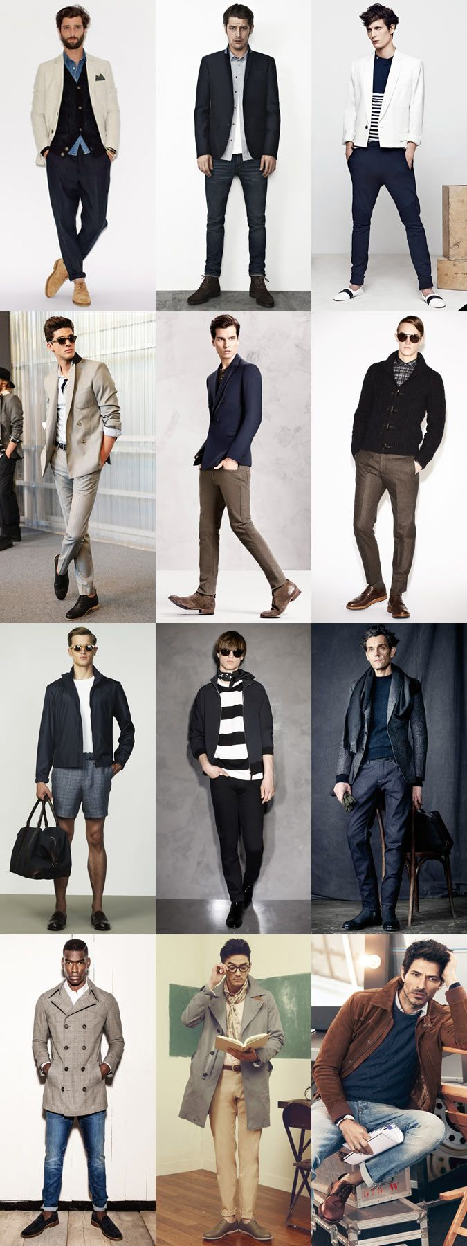 Men 39 S Parisian Chic Inspired Lookbook Outfit Examples