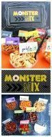 Monster Trail Mix Bar  Ernte Party  Schule