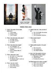 English worksheet: The Butler movie quiz | The Butler's worksheet ...