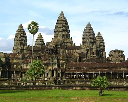 Angkor Wat, Cambodia--largest Hindu temple complex in the world