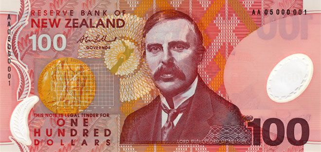 Fifth Series Of Banknotes 100 New Zealand Dollar New Zealand Bank Notes