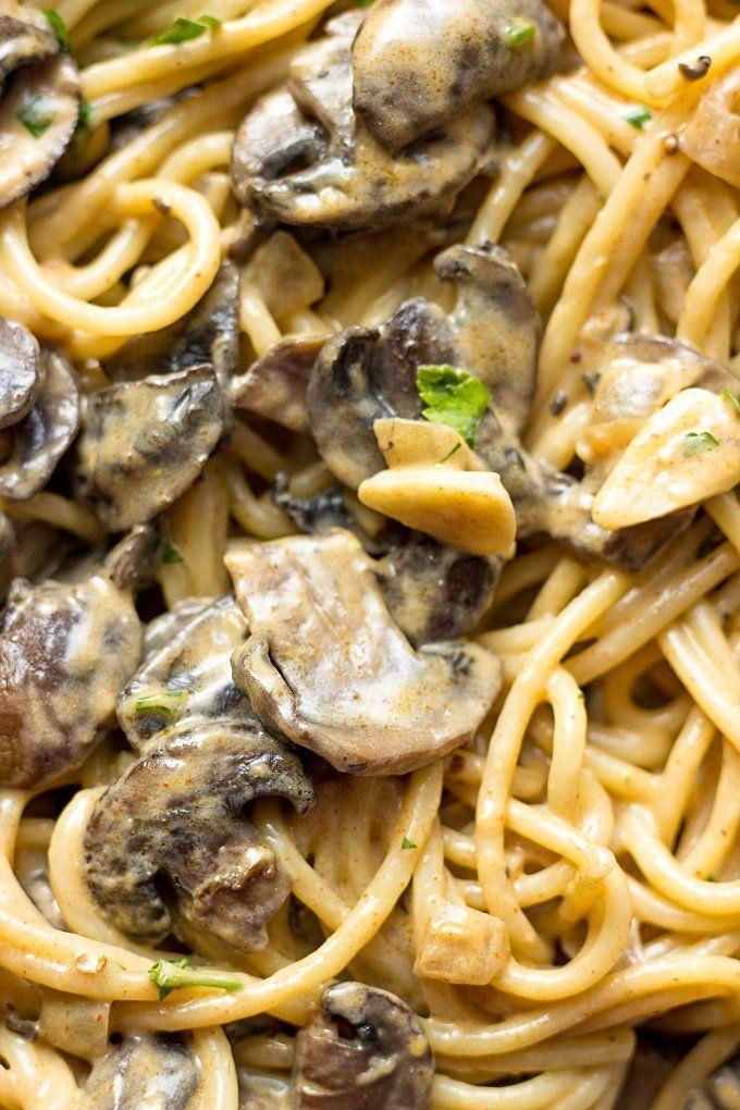 Mushroom Stroganoff images