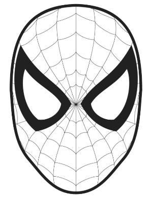 Spiderman Spider Logo Outline For Pumpkin Carving Spiderman Pumpkin Spiderman Coloring Spiderman Pumpkin Stencil