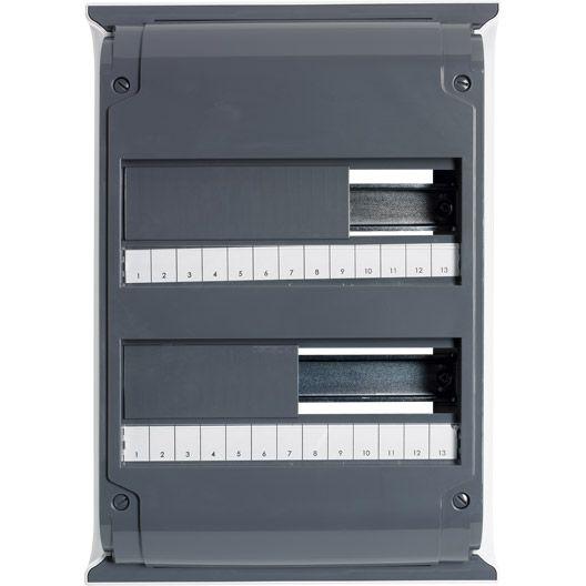 Tableau électrique nu DEBFLEX, 2 rangées, 26 modules #electricite