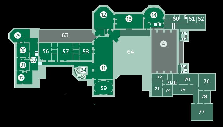Second Floor 11living Hall 12bedroom 13sitting Room 14bedroom 4banquet Hall 29damask Room 30claude R Biltmore House Biltmore Estate Asheville Biltmore Estate