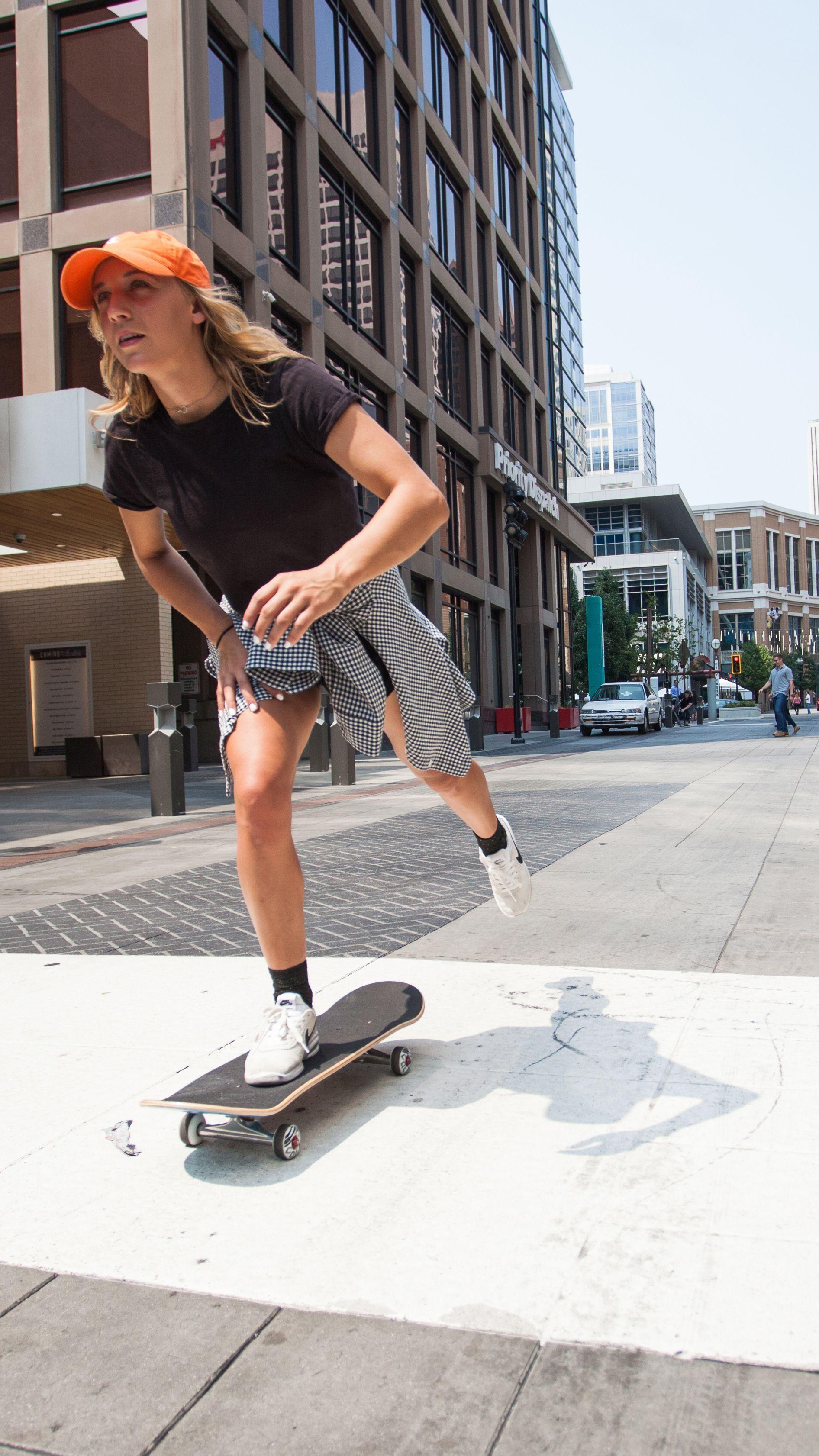 Skate like a girl 💪👩 | Skater girl style, Skater girl