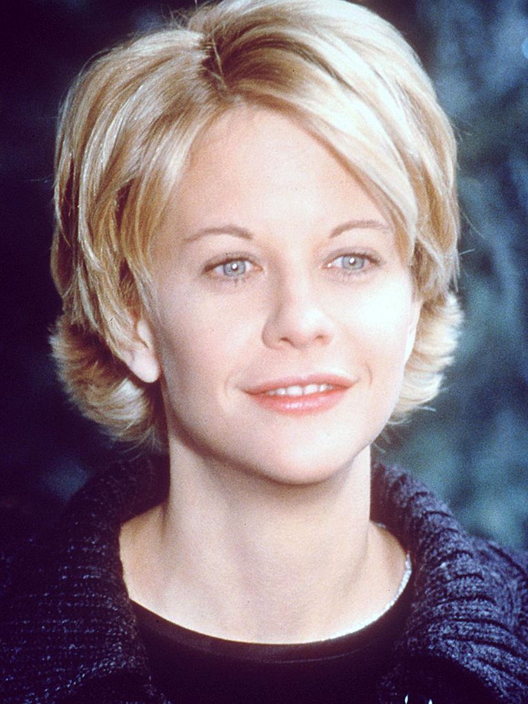 Love this hairstyle short with layers if only i had meg ryanus