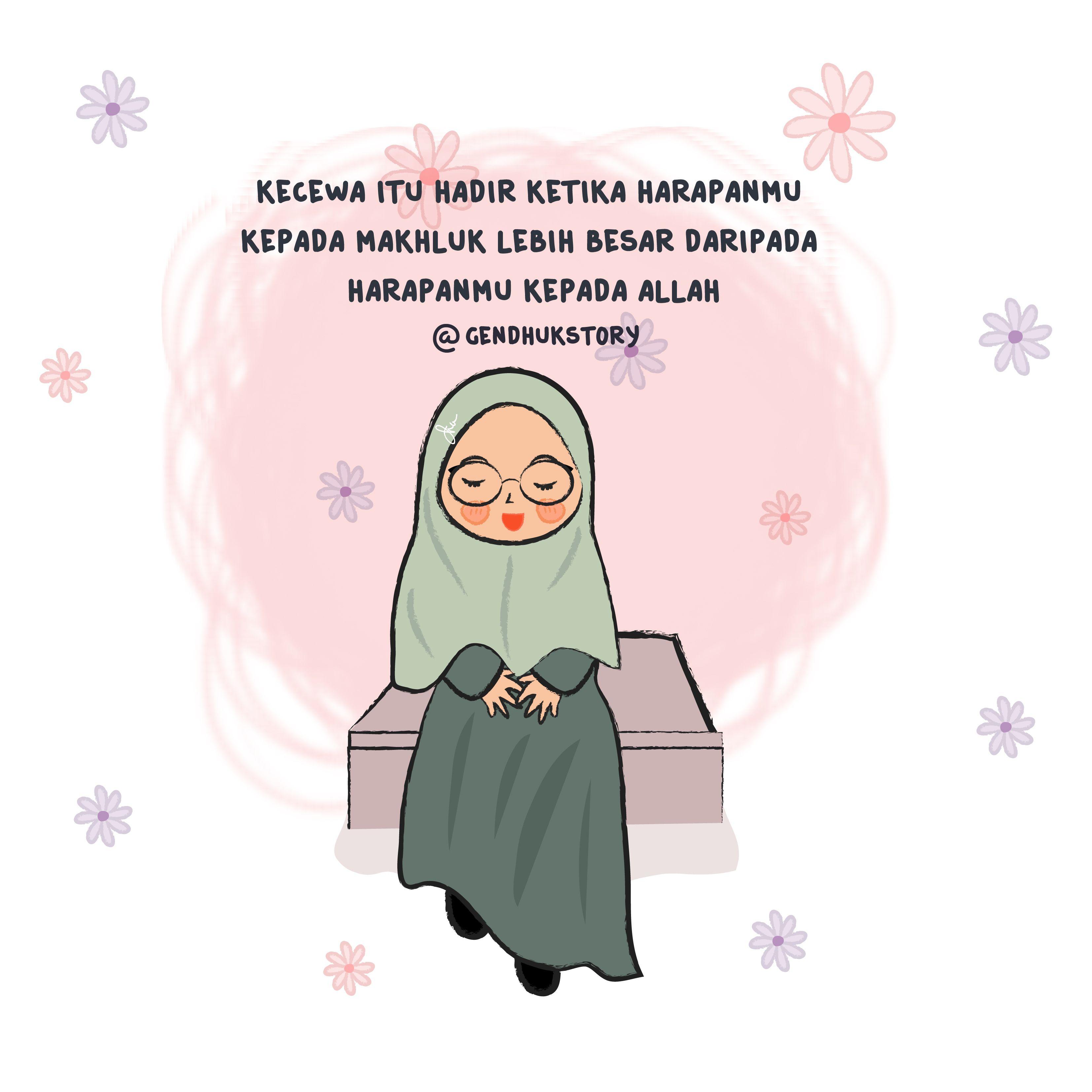 Gudang Gambar Kartun Islam Couple Phontekno