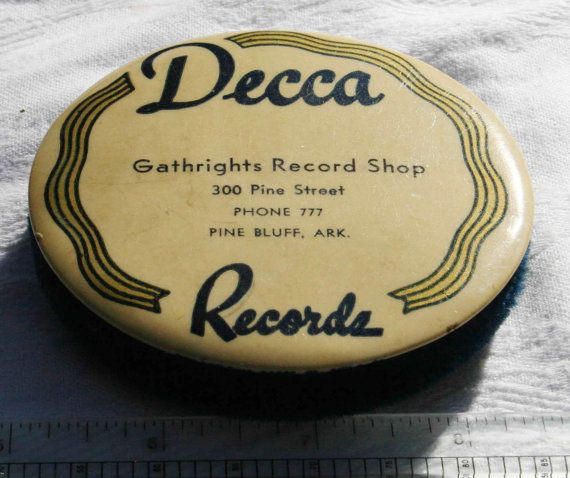 Decca Records- 78 RPM- Record Cleaning brush- Pine Bluff Arkansas
