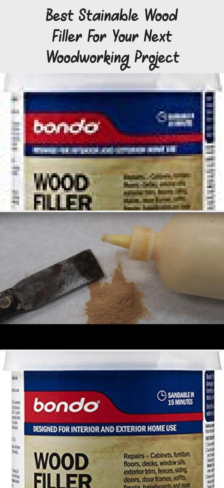 Best Stainable Wood Filler For Your Next Woodworking