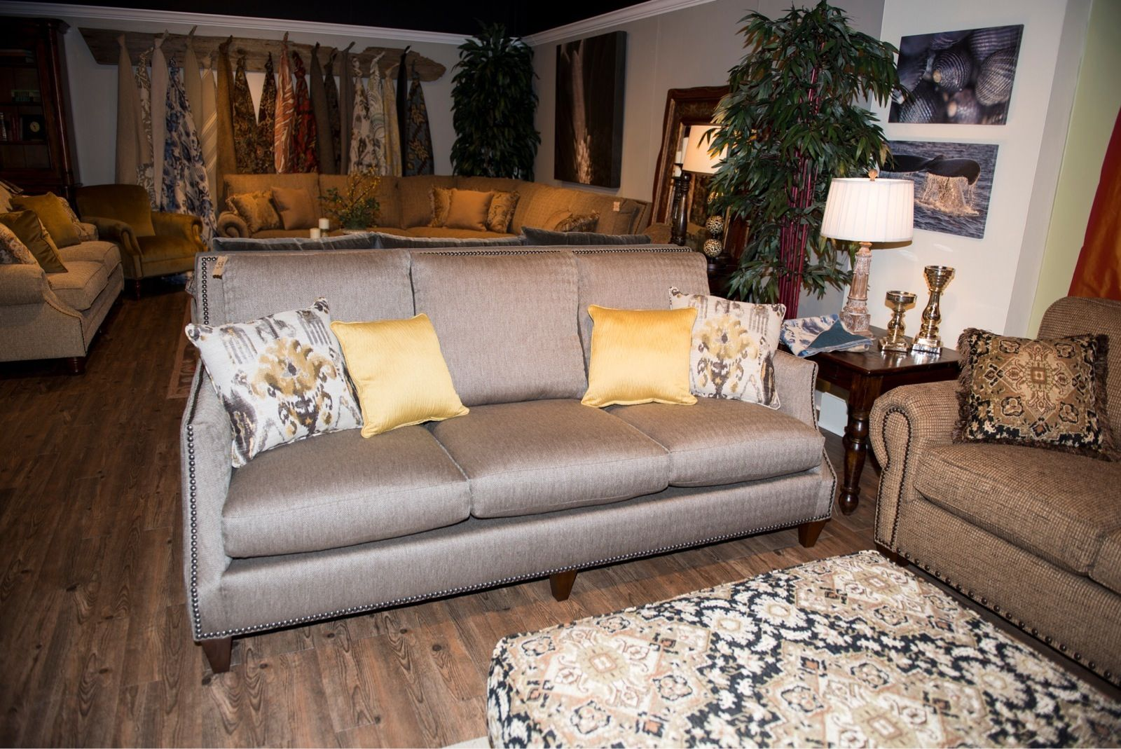 You can make lots of money. This lovely sofa is a Made in America Piece. You can also ...