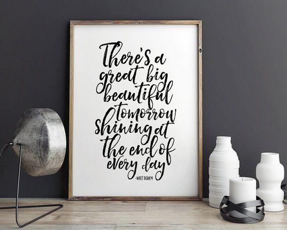 printable art walt disney world walt disney quote bedroom decor