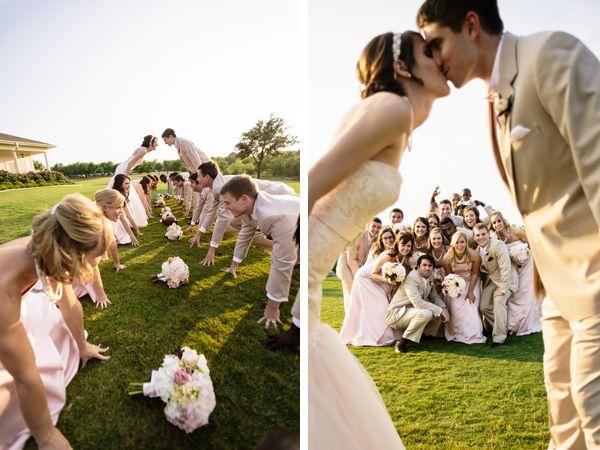 bridal party photos poses - Google Search