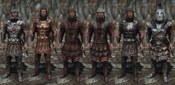 Visual overhaul of Imperial armor and weapons  Featuring