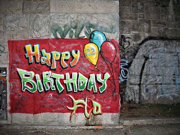 Permanent Link To Happy Birthday Graffiti Collection 6 Misc Pinterest Freundschaft