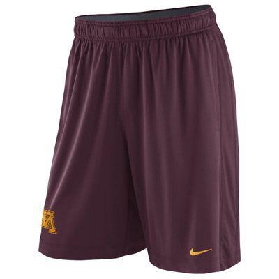 Minnesota Golden Gophers Nike Fly Shorts – Maroon