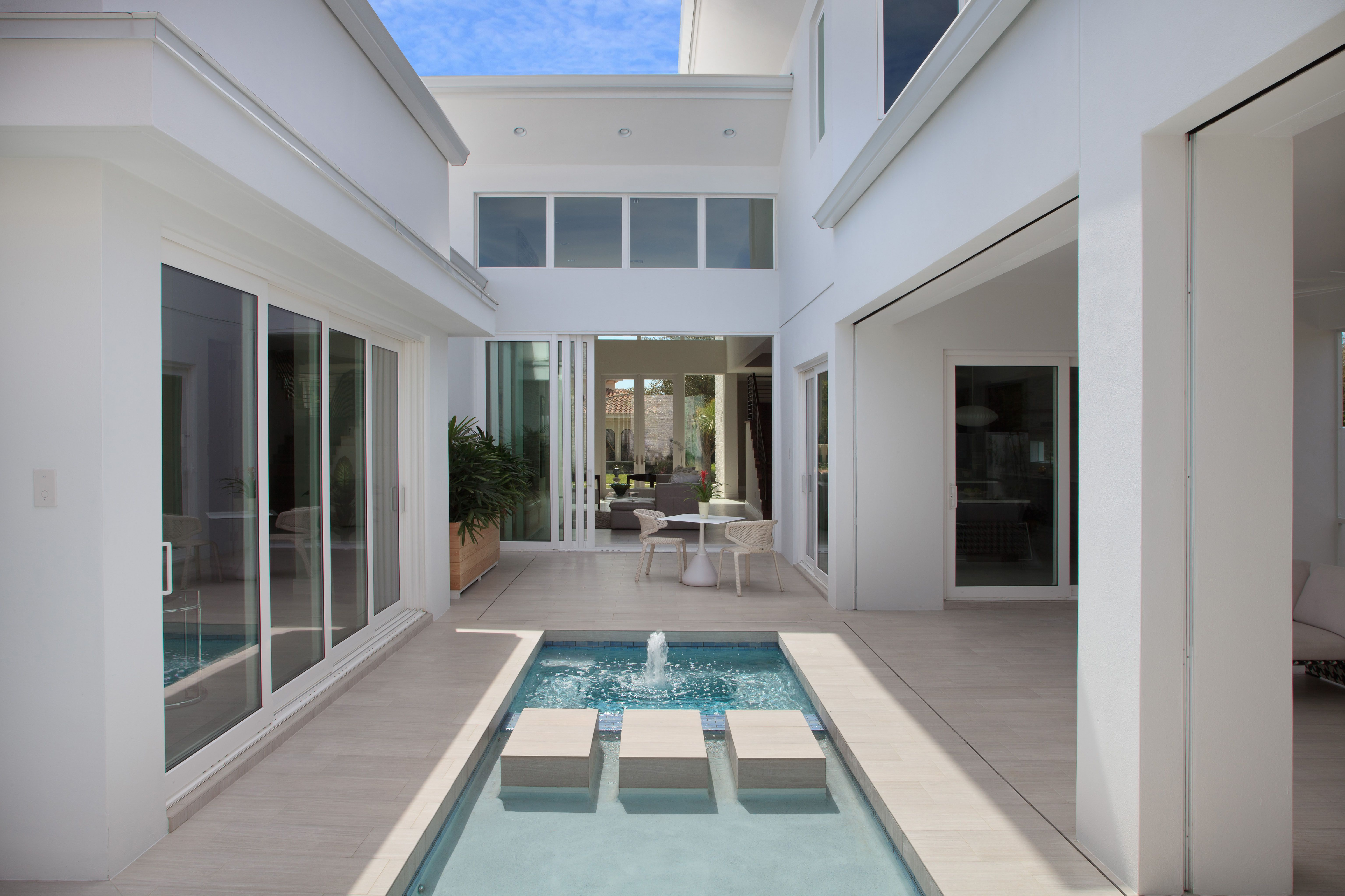 Design f by waycool homes is a courtyard style residence for Waycool homes