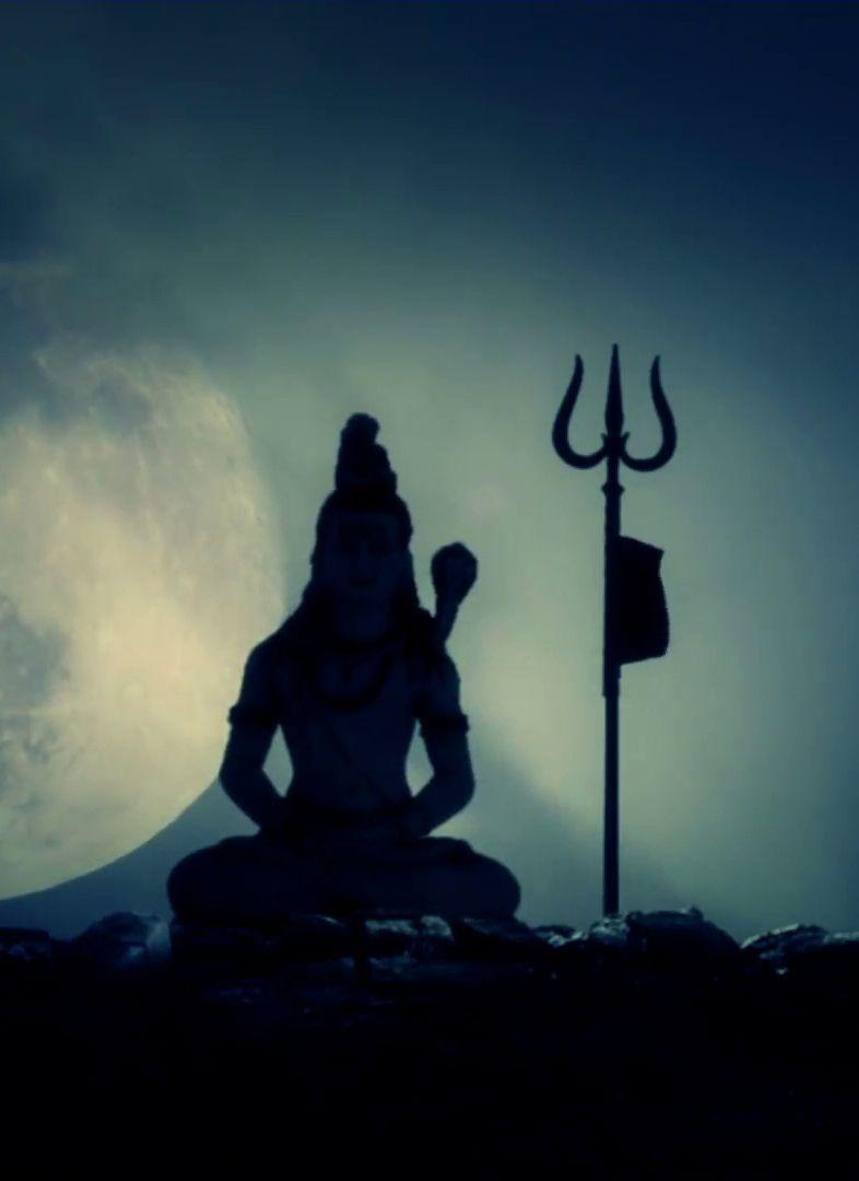 Lord Shiva Beautiful In Dark Night Mobile Wallpaper Lord Shiva Lord Shiva Hd Wallpaper Mahadev Hd Wallpaper